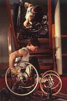 """Rick Hansen: Canadian Paralympian and """"Man in Motion"""" who circled the world in his wheelchair, 26 months, 40K km, 34 countries, 4 continents. #140travellers"""