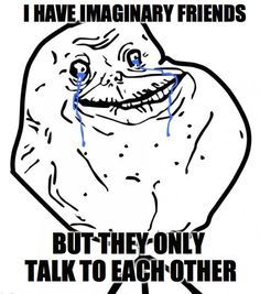 forever alone on valentine's day pic