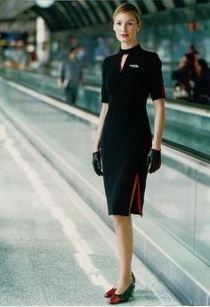 Silk air cabin crew glamorous cabin crew pinterest for Spa uniform bangkok