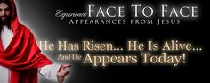 Face to Face Apperances from Jesus - More Topics, More Pages, More Links | Official Site of Apostle David E. Taylor | Joshua Media Ministries International