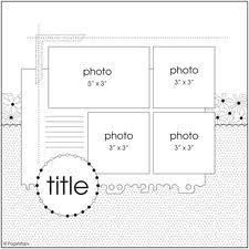 scrapbook sketches - Google Search