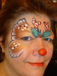 christmas - Reindeer butterfly