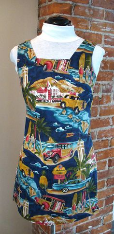 Vintage Shannon Marie Made in Hawaii Dress Size XS /6 by TheOldBagOnline on Etsy