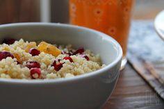 Couscous à la grenade et aux raisins by emilieandlea4, via Flickr