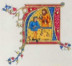 Enluminures lettrines creation