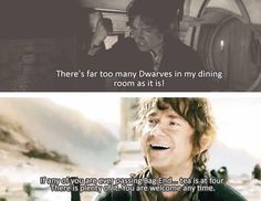 *sobs* I just wish the last film would have focused on the dwarves more. There wasn't enough of them.