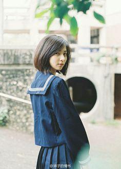 JK制服セーラー Cute Asian Girls, Beautiful Asian Girls, Sweet Girls, Cute Girls, Japanese School Uniform, School Uniform Girls, Girls Uniforms, School Girl Japan, Japan Girl