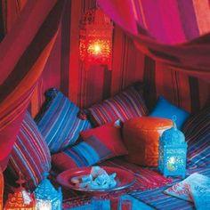 Oriental interior.. diese farben!