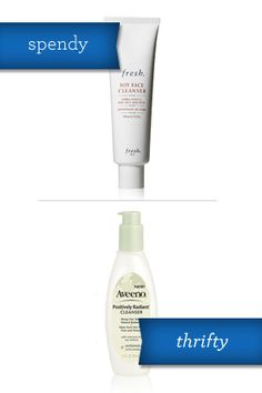 Face cleanser: Fresh's Soy Face Cleanser is gentle for sensitive skin, and soy increases collagen production -- therefore helping even out skin tone and texture