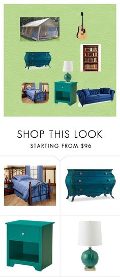 """""""Chelsea's Tent"""" by lilitree ❤ liked on Polyvore featuring Hillsdale Furniture, Hooker Furniture, South Shore and Williams-Sonoma"""