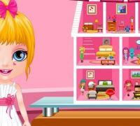Bebek Barbie Oyuncak Ev