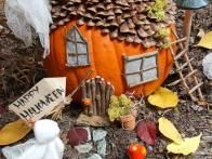 Create a haunted gnome house in your garden this year using a pumpkin and materials you already have around your house or yard. This project is flexible - your gnome house can be as simple or elaborate as you like - so it's fun to do with kids of all ages.