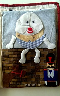Humpty Dumpty puzzle page. Can you put him back together again? By elsie and jim (2006)