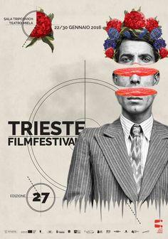 Trieste Film Festival  2016 New graphic poster by Julia Geiser