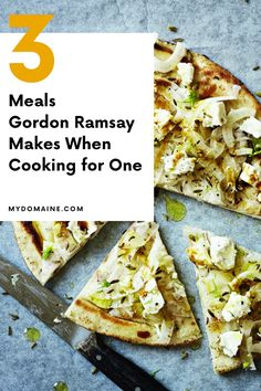 Gordon Ramsay's favorite recipes to cook for one person