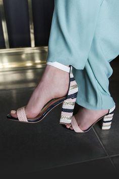 fadc6cf80 Ebony Metallic High Heel Sandals By Miss KG