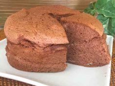 糖質制限♪絶品♪簡単♪チョコスフレケーキの画像