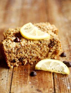Vegan Lemon Chia Seed Chocolate Chip Bread