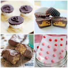 No Wrappers Required: 11 Homemade Candy Recipes Chocolate Candy Recipes, Homemade Chocolate, Easy Desserts, Delicious Desserts, Yummy Food, Dessert Drinks, Dessert Bars, Sweet Recipes, Rice Recipes