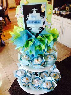 Cupcakes de baby shower