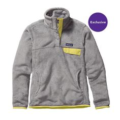 W's Re-Tool Snap-T® Pullover, Tailored Grey - Nickel X-Dye w/Yoke Yellow (TNXY)