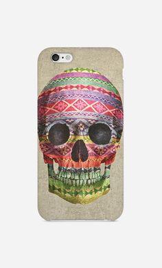 Coque iPhone Navajo Skull par Terry Fan - Wooop.fr