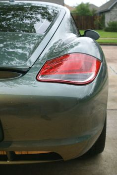 Tail end of my 2009 Cayman S Cayman S, Porsche Sports Car, 1930s, Cool Cars, Beauty, Autos, Beauty Illustration