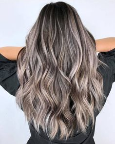 Balayage Blonde Ends - 20 Fabulous Brown Hair with Blonde Highlights Looks to Love - The Trending Hairstyle Brown Hair Shades, Brown Ombre Hair, Brown Blonde Hair, Light Brown Hair, Brown Hair Colors, Ashy Hair, Dark Chocolate Brown Hair, Non Blondes, Hair Highlights