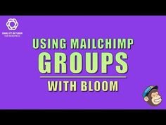 How to Use MailChimp Groups with Bloom [Elegant Themes]