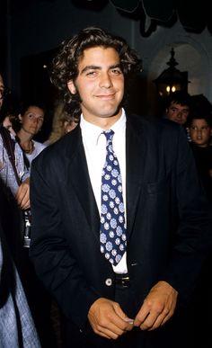 George Clooney, 1995.