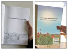 Print ad for Israeli energy company promoting their focus on green power.