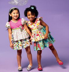 McCalls 6688 Little Girls Easter Dress Party Dress by ucanmakethis