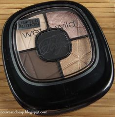 Wet n Wild Fergie Centerstage Photo Focus eyeshadow palette in No Filter from the summer 2014 limited edition collection