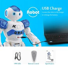 Intelligent Remote Control Humanoid Robot For Children - It is an intelligent robot which is capable of creating a lot of fun for your little kids. Intelligent Robot, Humanoid Robot, Kids Birthday Gifts, Kids Patterns, Zara Kids, Remote Control Toys, Electronics Gadgets, Find Picture, Summer Kids