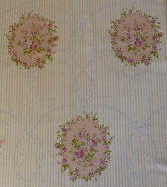 Rococo & Sweet  rosa Rosen  Shabby Chic von SuesFabricNSupplies