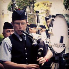 Concierto con la Banda de Gaitas del Batallón de San Patricio .  Domingo 6 de marzo de 2016, 17:00 horas, entrada libre .  La misión de la Banda es difundir la música de gaita en nuestro país, así como honrar la memoria de los integrantes del Batallón de San Patricio.  Explanada del Batallón de San Patricio .  #museonacionaldelasintervenciones #museo #intervenciones #INAH #coyoacan #churubusco #CDMX #concierto #BandaDeGaitas #BatallonDeSanPatricio #gaita #SanPatricio