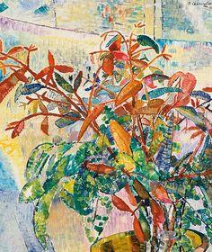 Grace Cossington Smith Gum Leaves and Bush Foliage 1943