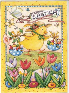 Happy Easter to you, and yours.   Mary Engelbreit