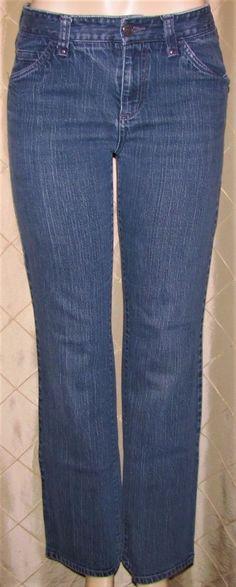 2aafe50000 Eddie Bauer Womens denim Jeans size 6 Pants Specially Dyed Medium Wash   EddieBauer  CasualPants