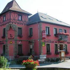 Hôtel-restaurant Au Soleil à Valff - #tourismeobernai www.tourisme-obernai.fr