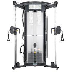 S972 Functional Trainer  - Accessoires inclusief - Zwenkbare pulley's - Ongekende variatie in trainingen - Pull up bar - Blokken pakket 150 kilogram