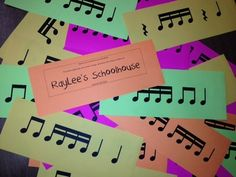 Rhythm Flash Cards (Level 2) - Tika-Tika - RayLee's Schoolhouse - TeachersPayTeachers.com
