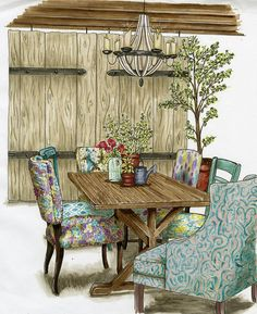 Retail Dining Lifestyle by Amy Barton