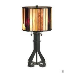 TIFFANY GEOMETRIC TABLE LAMP