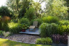 deck in landscape