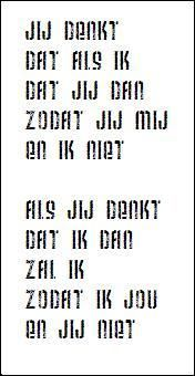 Gedicht van Harry Mulisch