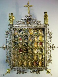 Reliquary Victoria and Albert Museum Spanish about 1580-1600