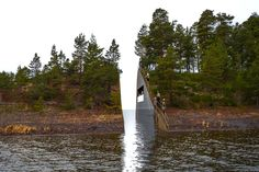 "Norway Unveils Beautiful ""Memory Wound"" Dedicated to Utoya Island Massacre Victims 