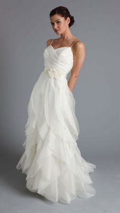 So elegant! This #weddingdress is perfect for a luxurious destination wedding!