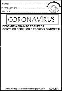 coronavírus,educação infantil Math, Learning, Decor, Learning Activities For Kids, Citizenship Activities, Dry Cough, Activities, Decoration